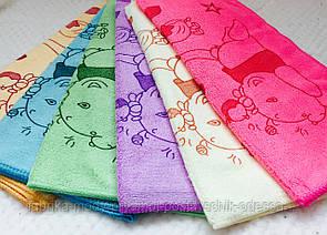 Кухонные полотенца Микрофибра Мишка Хепи