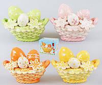 Декоративная корзина для яиц 14см, 4 вида BonaDi 23-E240