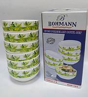 Набор мисок фарфоровых Bohmann BHP-161  6 персон