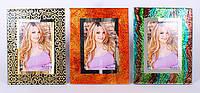 Рамка для фотографий стеклянная 22.5см, 3 вида BonaDi 470-235