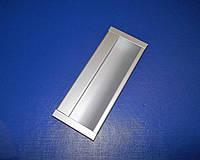 Врезная ручка на дверь К8152- 96мм алюминий, фото 1