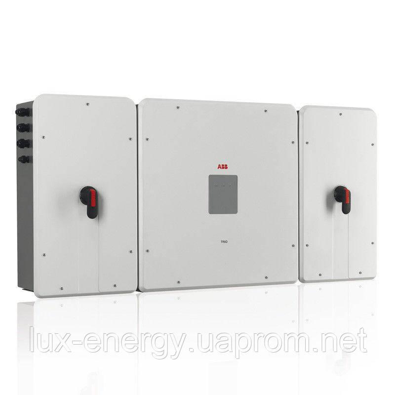 Мережевий інвертор ABB TRIO-TM-50 (50кВт, 5 МРРТ)