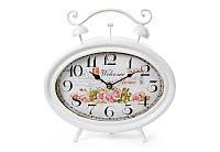 Часы настольные металлические ретро Розы BonaDi 412-412