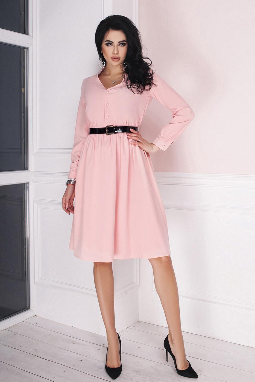 6c556d63e43 Платье Марго в цвете пудра - LILIT ODESSA оптово-розничный магазин женской  одежды в Одессе