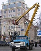 Услуги Авто вышки 22м Симферополе.Цена от 950 рублей/час.