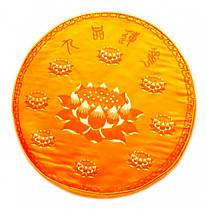 Подушка для медитації з поролоном мала Жовта