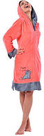 Халат ARYA Emily женский XXL 1351191 M, Коралловый
