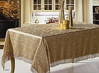 Скатерть ARYA Fianco с гипюром 160х220 см. 1550138