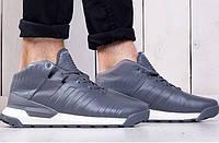 Мужские зимние кроссовки Adidas Porshe Disign Sport Grey