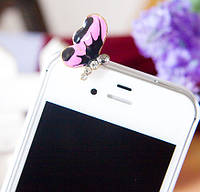 Бабочка на телефон (защита от пыли)