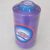 019 Нитки швейные цветные 40/2 4000ярдов Super