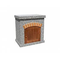 """Стол для барбекю """"Манчестер"""" (№1) с деревянным фасадом, фото 1"""
