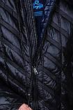 Чоловіча демісезонна стьобана куртка Black Wolf, чорного кольору, фото 4