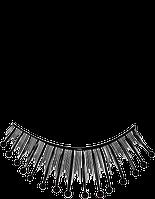 Длинные накладные ресницы с бусинками S 7