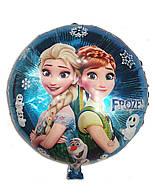 Фольгированный шар Эльза и Анна