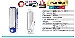 Светильник аккумуляторный RIVALDO-8W светодиодный, фото 2