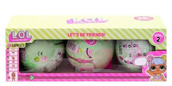 Кукла сюрприз в шаре L.O.L. 21903 (3 шт в наборе), фото 2