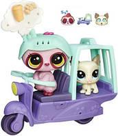 Игровой набор Hasbro Littlest Petshop Городской транспорт