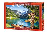 Пазл Горное озеро на 1500 элементов