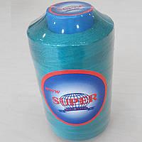 198 Нитки швейные цветные 40/2 4000ярдов Super