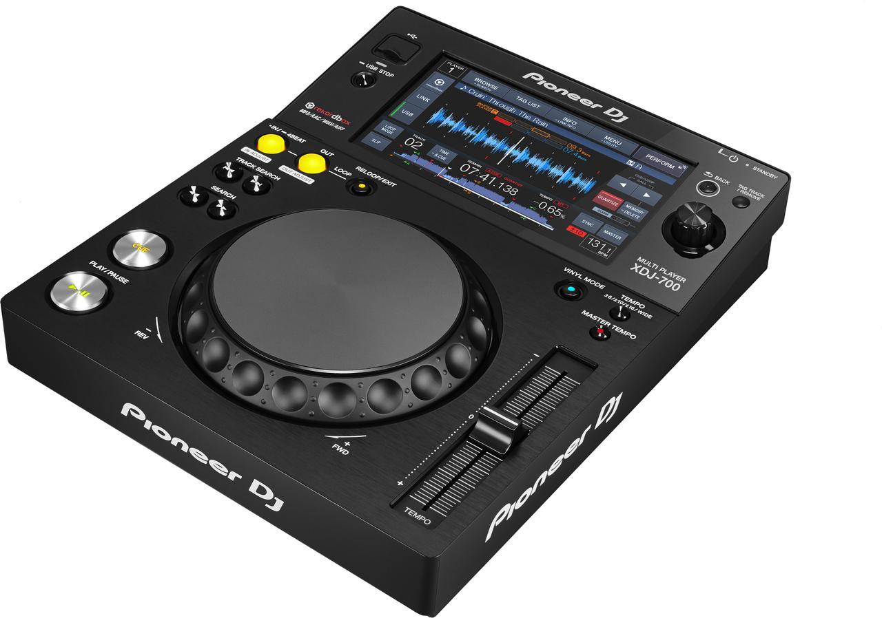 Компактный цифровой плеер для rekordbox Pioneer XDJ 700