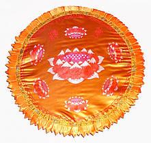 Подушка для медитации с поролоном большая.