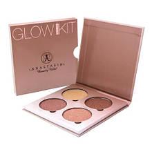 Хайлайтер Anastasia Beverly Hills Glow Kit 4 цвета