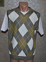 Чоловіча футболка, стильна! стан відмінний! б/у