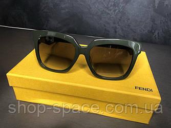 Очки Fendi солнцезащитные (точная копия)