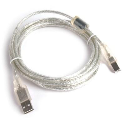Кабель для принтера USB 2.0 AM/BM 1.8 m Gemix (Art.GC 1604) з феритом, 1.8 м