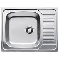Кухонная мойка из нержавеющей стали Fabiano 65x50 Decor