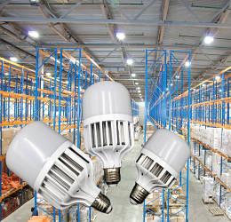 LED cветодиодные лампы высокомощные промышленные
