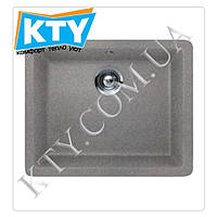 Мойка прямоугольная Тека Radea 490х370 TG Metalic (врезная, алюминий, 550 х 430)