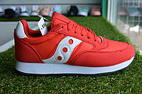 Женские кроссовки Saucony красные, копия, фото 1