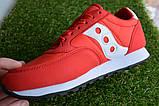 Женские кроссовки Saucony красные, копия, фото 4