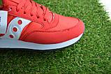 Женские кроссовки Saucony красные, копия, фото 9