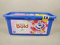 Bold - Капсулы для стирки 2n1 (Цветущий жёлтый мак) 29 шт