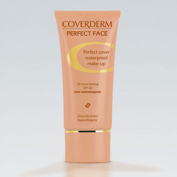 Coverderm Camouflage Perfect Face Тональний крем для обличчя c SPF 20
