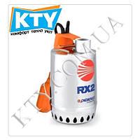 Дренажный насос Pedrollo RX (для загрязненной воды, трехфазный, нержавеющая сталь, поплавковый выключатель) Модель: 5;