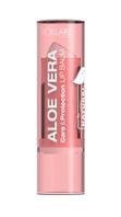 Гигиеническая помада для губ с Алоэ Вера Клубника