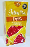 Чай фруктовый Intensitea малина и лимон 20 пакетиков Польша