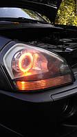 Фары Hyundai Tucson с биксеноновыми линзами