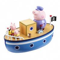 Игровой набор Peppa - МОРСКОЕ ПРИКЛЮЧЕНИЕ (кораблик, 3 фигурки) от Peppa - под заказ