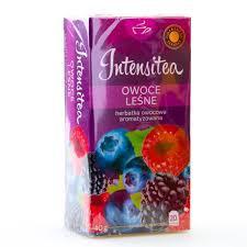 Чай фруктовый Intensitea лесные ягоды 20 пакетиков Польша