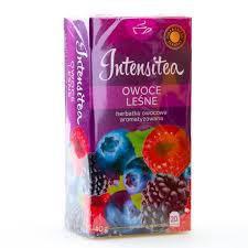 Чай фруктовый Intensitea лесные ягоды 20 пакетиков Польша, фото 2