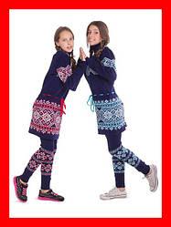Свитер, платье, костюм - для девочки - от 128 см до 152 см