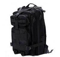 Тактический рюкзак 25 литров (черный)