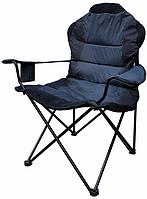 """Стул - кресло складное """" Рыбак люкс """" синий"""