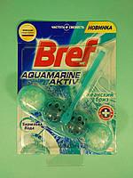 Bref - Туалетные блоки для унитаза Сила Актив (Океанский бриз + Бирюзовая вода) 50 гр