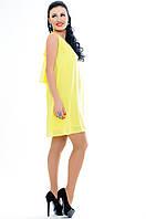 "Желтое женское платье  ""MALIBU"" недорого"
